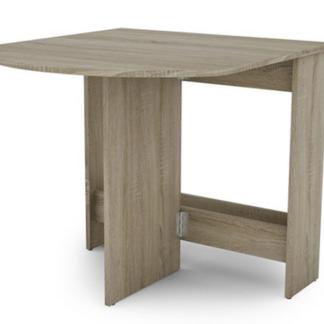 Výklopný jídelní stůl Samson 80x87,5 cm, dub sonoma