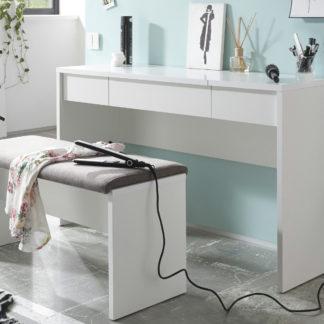 Sconto Toaletní stolek s lavicí LIPSTICK