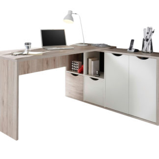 Sconto Rohový psací stůl QUADRO 39
