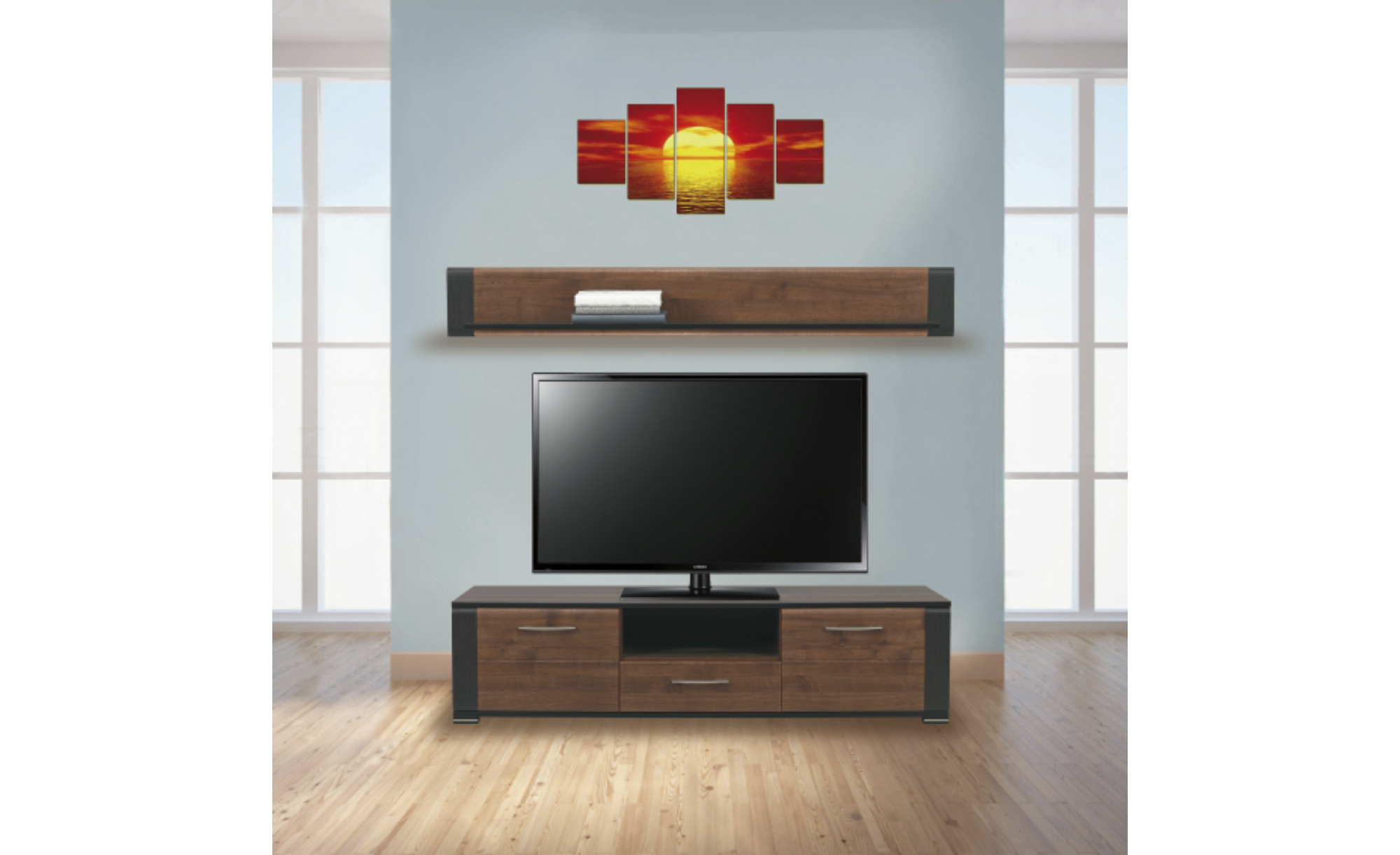 Sconto TV stěna NONA
