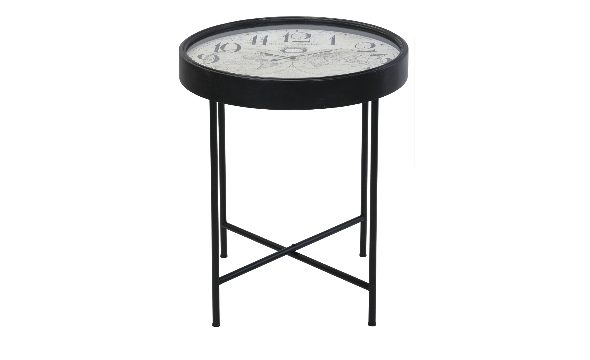 Sconto Přístavný stolek CLOCK