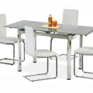 Jídelní stůl rozkládací LOGAN 2 šedý Halmar