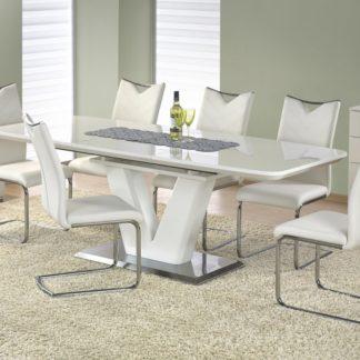 Jídelní rozkládací stůl MISTRAL bílý Halmar
