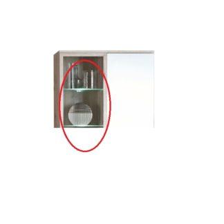 Dvoubodové LED osvětlení k obývací stěně VALERIA Tempo Kondela