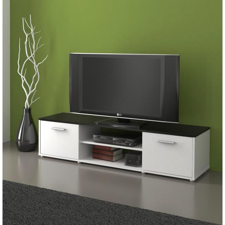 TV stolek ZUNO NEW 01 Tempo Kondela Černá / bílá