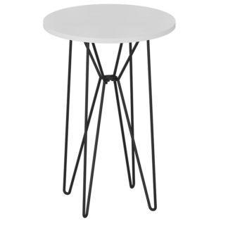 Příruční stolek RUBEN Tempo Kondela Bílá