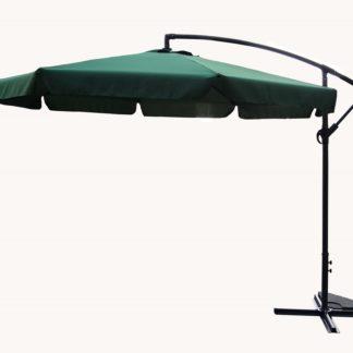 Slunečník EXCLUSIVE boční - zelený ROJAPLAST