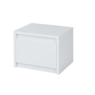 Noční stolek 2ks ITALIA bílá extra vysoký lesk Tempo Kondela