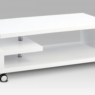 Konferenční stolek AHG-618 WT bílá 115 x 60 Autronic