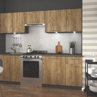 Kuchyňská linka DARIA 240 Halmar Antracit