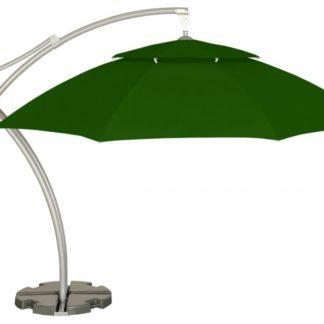 Zahradní slunečník GH2235 ø 420 cm zelený