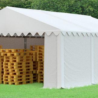 Skladový stan 6x6m bílá EKONOMY