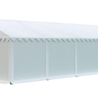 Skladový stan 5x10m EKONOMY Bílá