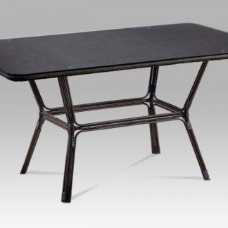 Zahradní stůl AZT-112 BK hnědá / černá Autronic