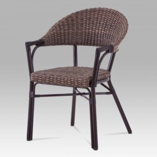 Zahradní židle AZC-120 BR hnědá Autronic