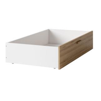 Zásuvný kontejner SIMPLA bílá / dub divoký Tempo Kondela