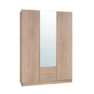 Šatní skříň 3-dveřová MEXIM dub sonoma Tempo Kondela
