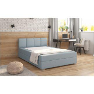 Boxpringová postel RIANA KOMFORT mentolová Tempo Kondela 120 x 200 cm