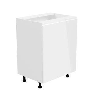 Spodní skříňka AURORA D601F - pravá Tempo Kondela Bílá