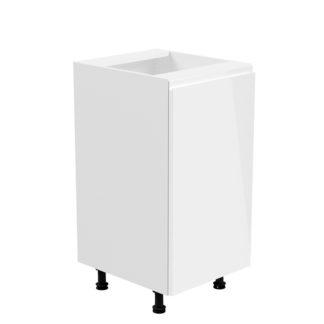 Spodní skříňka AURORA D40 - pravá Tempo Kondela Bílá