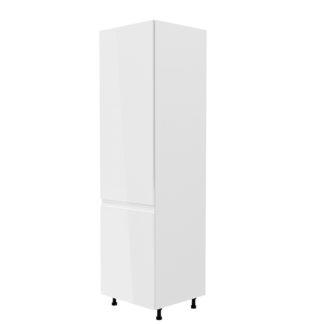 Potravinová skříňka AURORA D60R - levá Tempo Kondela Bílá