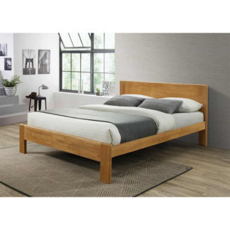 Manželská postel KABOTO dub Tempo Kondela 183 x 200 cm