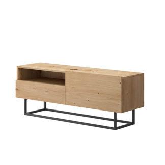 RTV stolek bez podstavce SPRING ERTVSZ120 Tempo Kondela Dub artisan