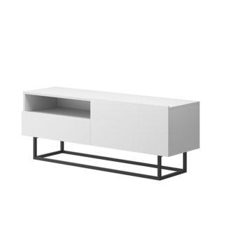 RTV stolek bez podstavce SPRING ERTVSZ120 Tempo Kondela Bílá
