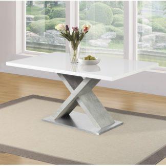 Jídelní stůl FARNEL Kondela Beton