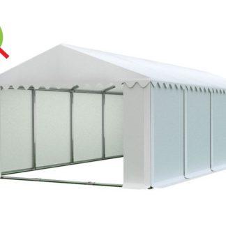 Skladový stan 6x10m bílá PROFI - nehořlavý