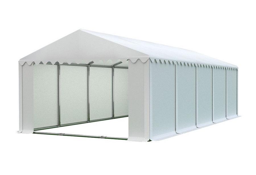 Skladový stan 5x10m bílá PROFI