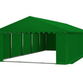 Skladový stan 6x10m PREMIUM Zelená
