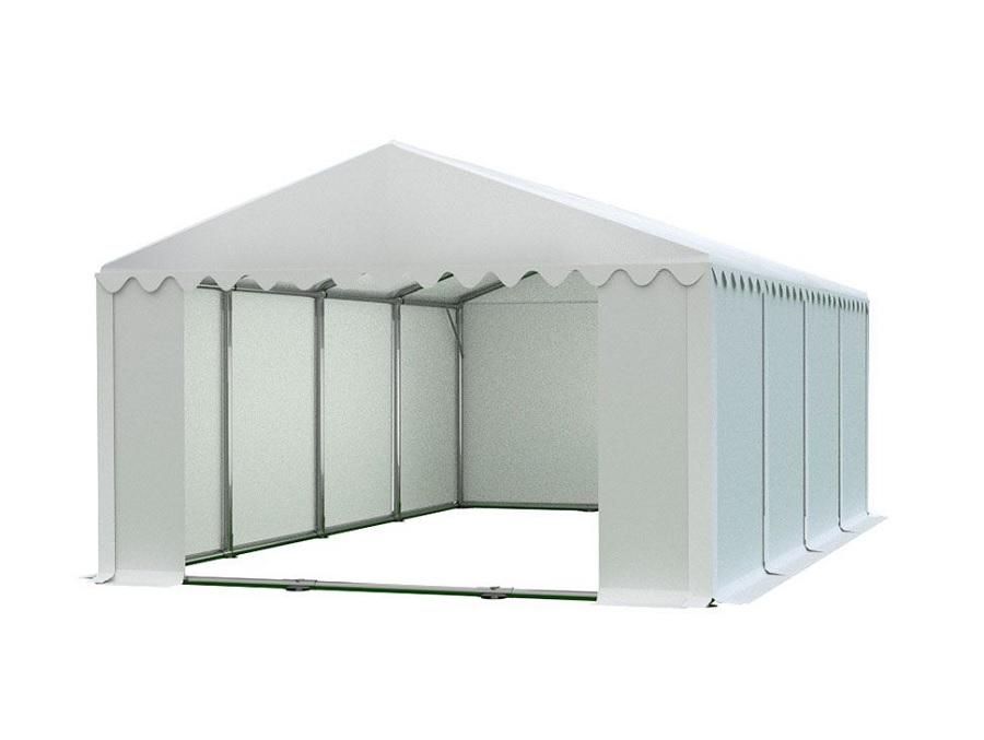 Skladový stan 6x8m PROFI Bílá