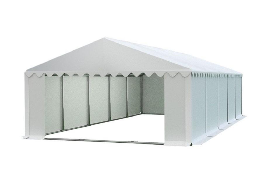 Skladový stan 6x10m PREMIUM Bílá