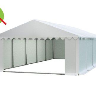 Skladový stan 6x10m bílá PREMIUM - nehořlavý