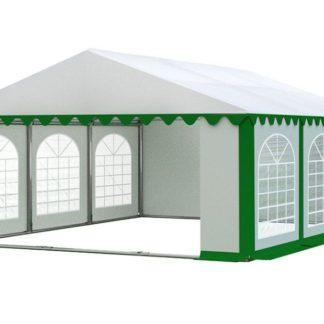 Zahradní párty stan 5x6m PREMIUM Bílá / zelená