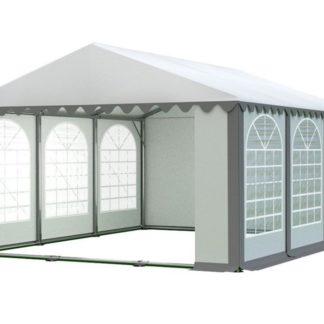 Zahradní párty stan 5x6m PROFI Bílá / šedá