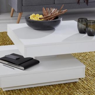 Konferenční stolek Universal 119, bílý