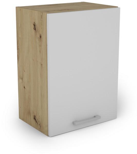 Horní kuchyňská skříňka Irma W40.56, dub artisan/bílá