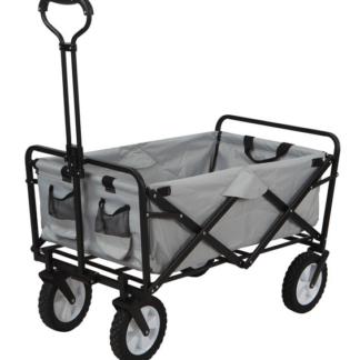 Skládací vozík na kolečkách Tim, šedý