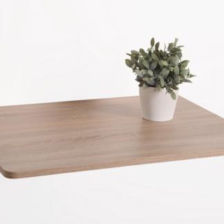 Nástěnný výklopný stolek Natalie 74x60 cm, dub sonoma