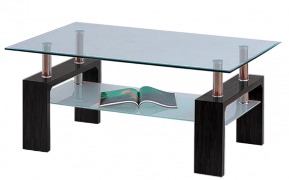 Konferenční stolek Diana Lisa tmavý ořech - FALCO