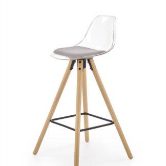 Barová židle H-91 Halmar Šedá