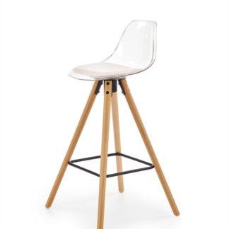 Barová židle H-91 Halmar Bílá