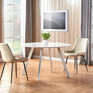 Jídelní stůl ELIF bílá Halmar