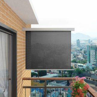 Multifunkční balkonová zástěna 150 x 200 cm Šedá