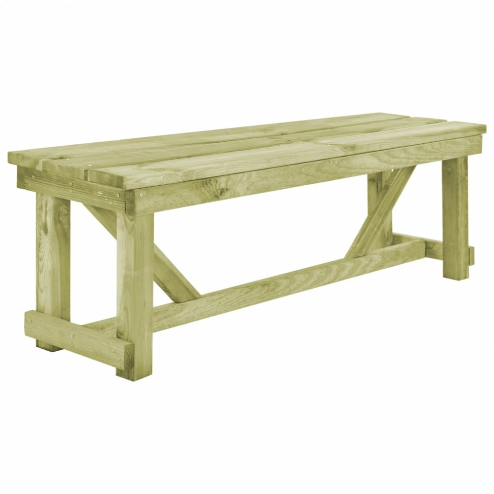 Zahradní lavička 140 cm z borovicového dřeva