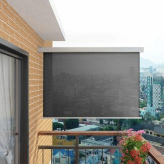 Multifunkční balkonová zástěna 180 x 200 cm Šedá