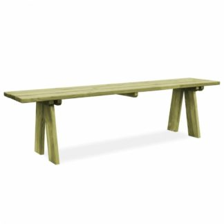 Zahradní lavička 170 cm z borovicového dřeva