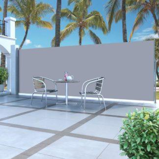 Zatahovací boční markýza / zástěna 160 x 500 cm Dekorhome Krémová